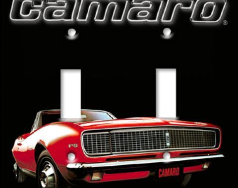 67 Camaro Switchplate, Single