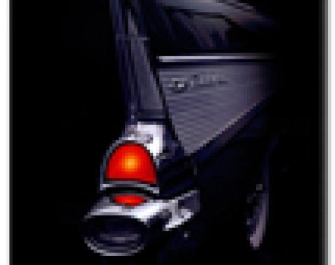 Black Car Fin Mouse Pad