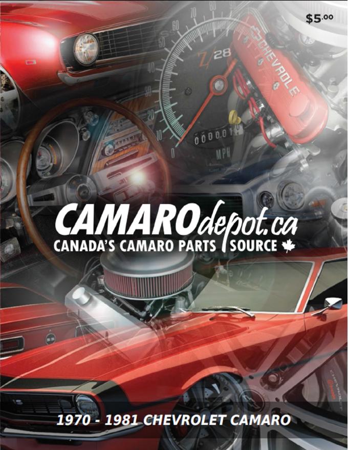 Camaro Catalog 1970-1981