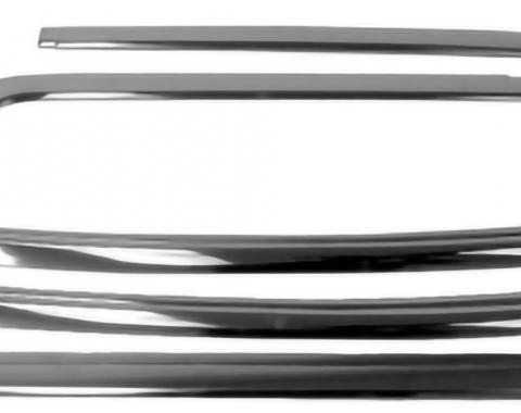 Camaro Rear Window Glass Molding Set, Coupe, 1967-1969