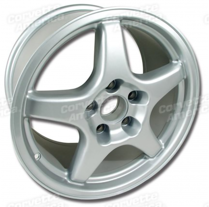 Camaro ZR1 (C4) Style Front Wheel, 17 x 9.5 x 54mm, Aluminum, 1993-2002