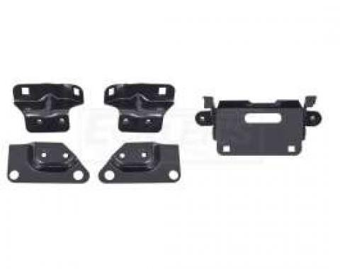 Firebird Rear Bumper Mounting Brackets, 1967-1968