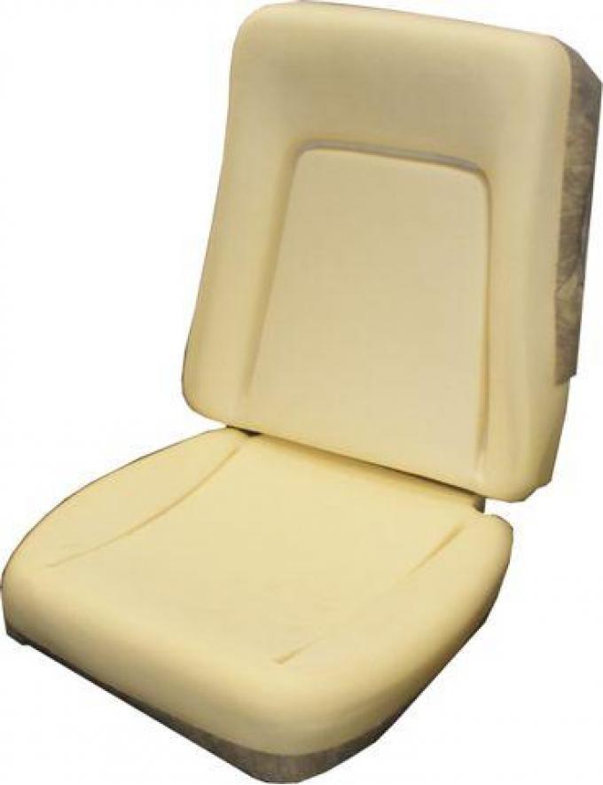 PUI 1969 Pontiac Firebird Standard Bucket Seat Foam BUN69EU