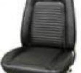 PUI 1969 Chevrolet Camaro Standard Bucket Front & Rear Seat Covers, Convertible 69FSUV