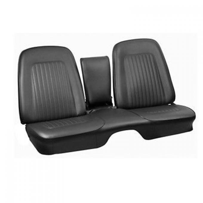 PUI 1967 Chevrolet Camaro Standard Front Seat Covers, with Armrest 67FSB