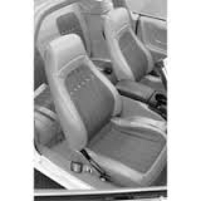 PUI 1993-1996 Chevrolet Camaro Bucket Front Seat Covers 93FSPOU