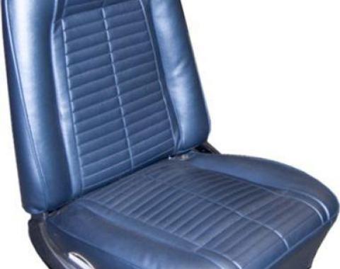 PUI 1967 Pontiac Firebird Standard Bucket Front Seat Covers 67ESU