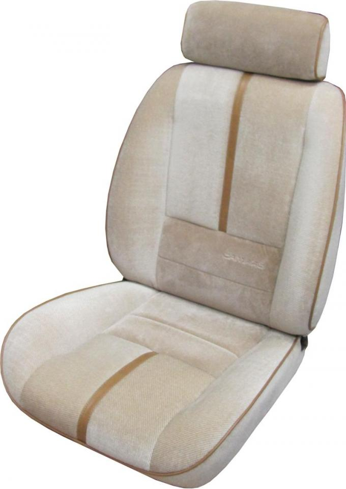 PUI 1988-1992 Chevrolet Camaro Deluxe Bucket Front Seat Covers 88DSCU