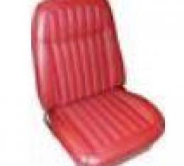 PUI 1969 Chevrolet Camaro Deluxe Bucket Front & Rear Seat Covers 69DSUSV