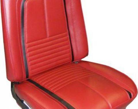 PUI 1967 Chevrolet Camaro Deluxe Bucket Front Seat Covers 67DSU