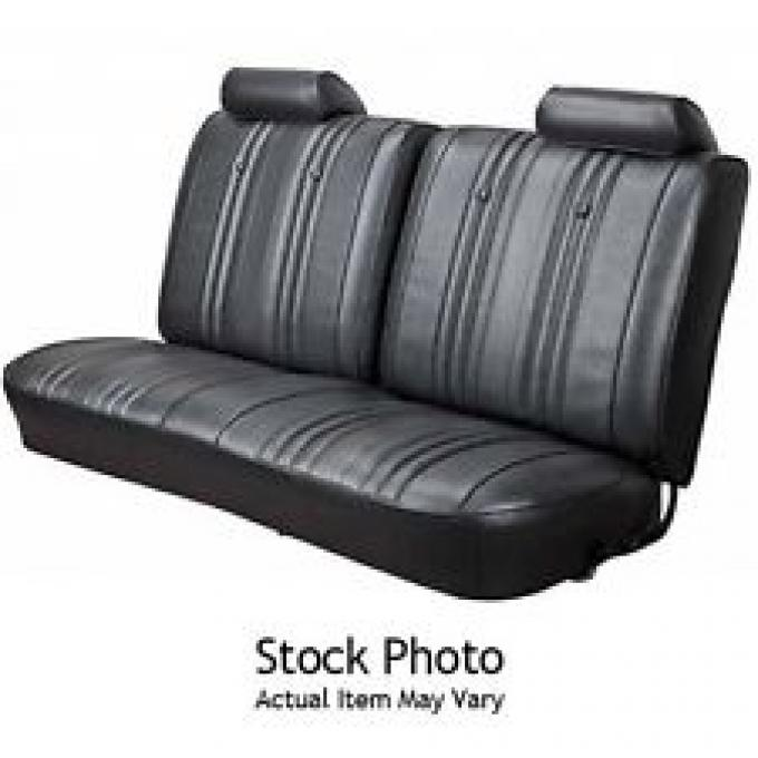 PUI 1973 Chevrolet Camaro Rear Seat Covers, Coupe 73DSCS