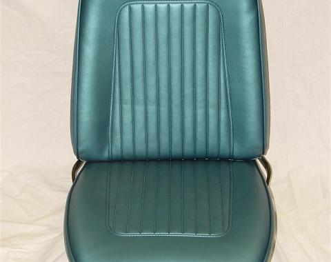 PUI 1968 Chevrolet Camaro Standard Bucket Front Seat Covers 68FSU