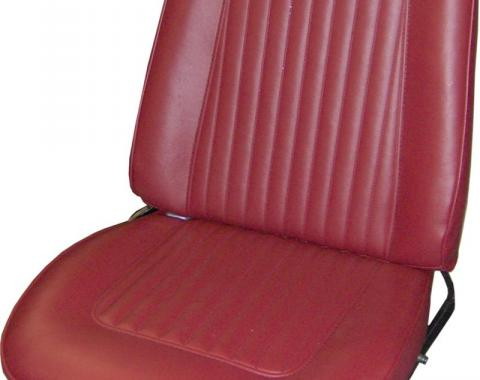 PUI 1967 Chevrolet Camaro Standard Bucket Front Seat Covers 67FSU