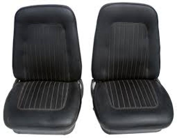 Camaro PUI Standard Bucket Seat Covers, Preassembled, 1967-1968