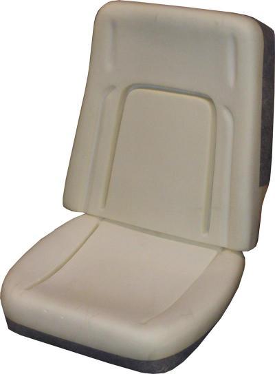 PUI 1968 Chevrolet Camaro Deluxe Bucket Seat Foam BUN68DU