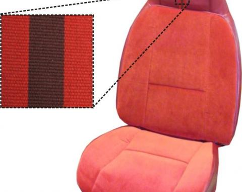 PUI 1980-1981 Chevrolet Camaro Bucket Front Seat Covers 80DSCU