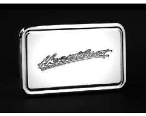 Polished Aluminum Billet Heartbeat Logo 2 Hitch Receiver Cover