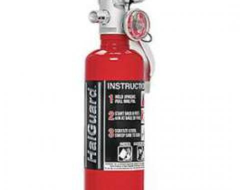 Fire Extinguisher, H3R Halguard, Red, 1.4 Lb.