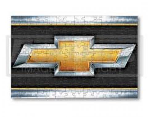 150 Piece Chevy Gold Bowtie Puzzle