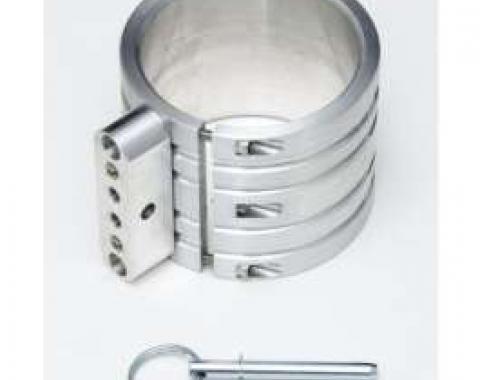 Fire Extinguisher Mounting Clamp, Billet Aluminum, 3 Diameter