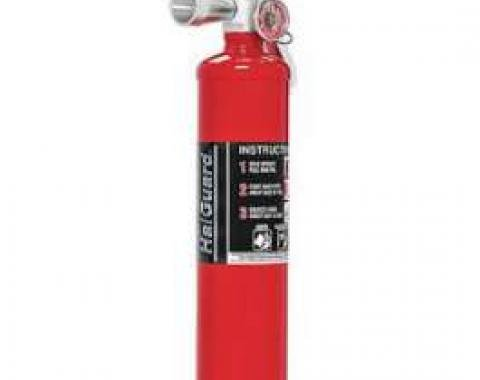 Fire Extinguisher, H3R Halguard, Red, 2.5 Lb.