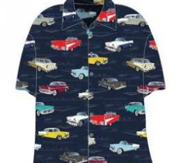 Chevy Camp Shirt, Tri-Five, 1955-1957, Large