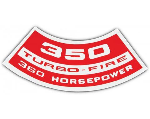 350 TURBO FIRE 360HP DECAL