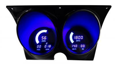 Intellitronix 1967-1968 Camaro LED Digital Gauge Panel DP4000