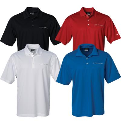 Camaro Polo Shirt, Men's, Nike Golf Dri-Fit, Camaro Emblem,Black