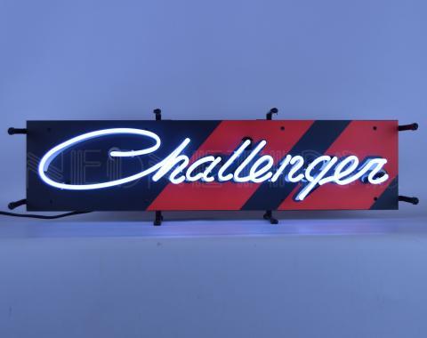 Neonetics Junior Size Neon Signs, Dodge Challenger Junior Neon Sign