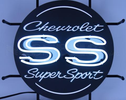 Neonetics Junior Size Neon Signs, Chevrolet Ss Super Sport Junior Neon Sign