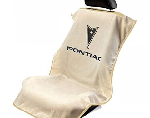 Seat Armour Pontiac, Seat Towel, Tan with Logo SA100PTCTE