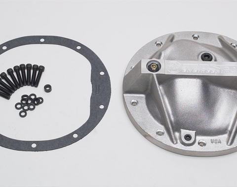 Camaro Differential Cover Gridle, Moser Performance, Aluminum,10-Bolt With 8.2/8.5 Ring Gear, 1967-1981