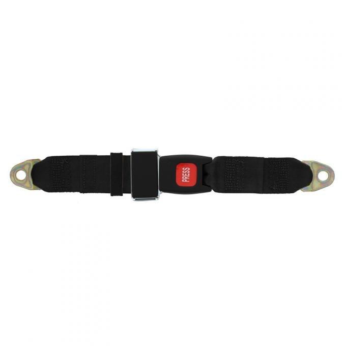 "Seatbelt Solutions Universal Lap Belt, 74"" with GM Buckle"