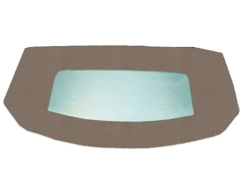 Kee Auto Top HG0199TN04SF Convertible Rear Window - Cloth, Direct Fit