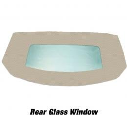 Kee Auto Top HG0133TN31SP Convertible Rear Window - Vinyl, Direct Fit