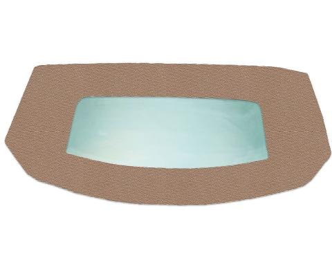 Kee Auto Top HG0133TN03SF Convertible Rear Window - Cloth, Direct Fit