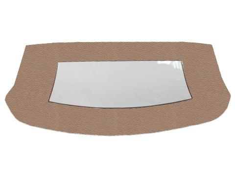 Kee Auto Top CD1099CO03SF Convertible Rear Window - Cloth, Direct Fit
