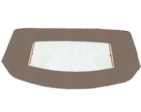 Kee Auto Top HG0199DF04SF Convertible Rear Window - Cloth, Direct Fit