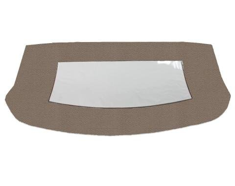 Kee Auto Top CD1099CO04SF Convertible Rear Window - Cloth, Direct Fit