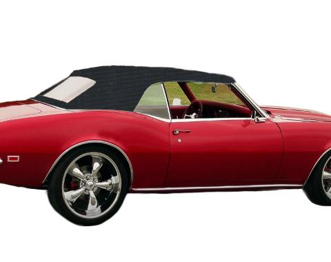 Kee Auto Top CD1033GTO33SP Convertible Top - Black, Vinyl, OE Replacement, Direct Fit