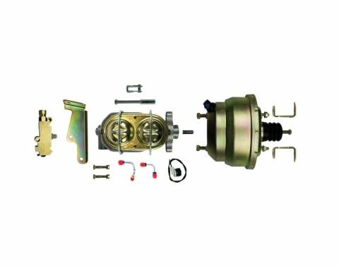 "Right Stuff Upper Assembly with Gold Booster, 1.125"" Bore, Valve, Lines and Brackets G81310971"