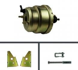 Right Stuff 7 Dual Booster w/ Rod & Bracket - Stainless RPB7137S