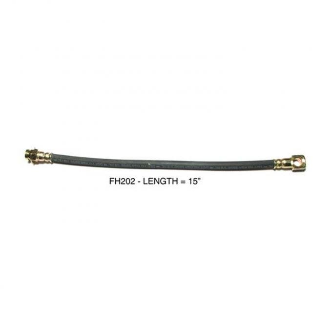 Right Stuff FH202 Braided Stainless FH202S