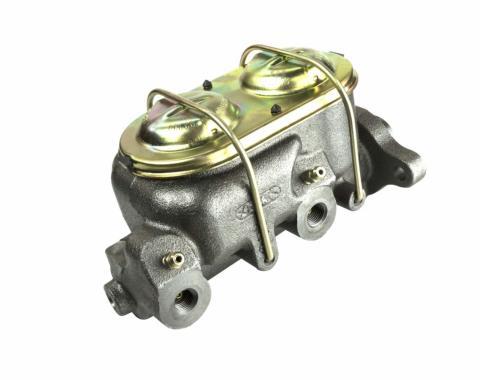 Right Stuff Dual Bail Master Cylinder w/ Bleeders; Licensed GM Restoration Part DBMC11
