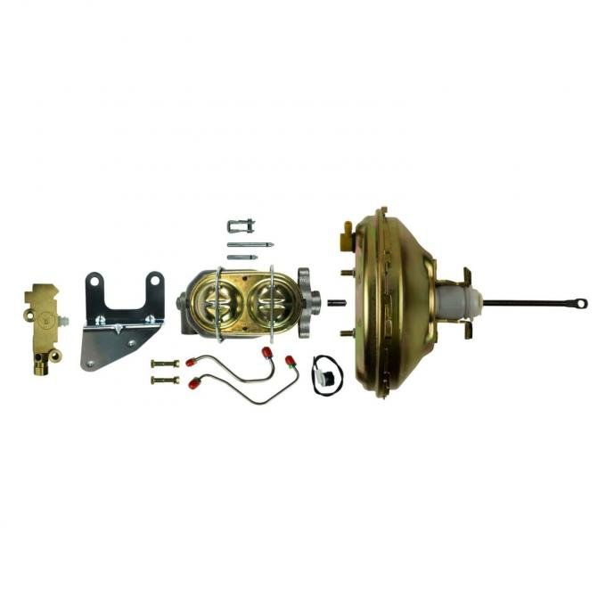 Right Stuff Upper Assembly with Gold Booster, Bore, Valve, Brackets and Lines G10070572
