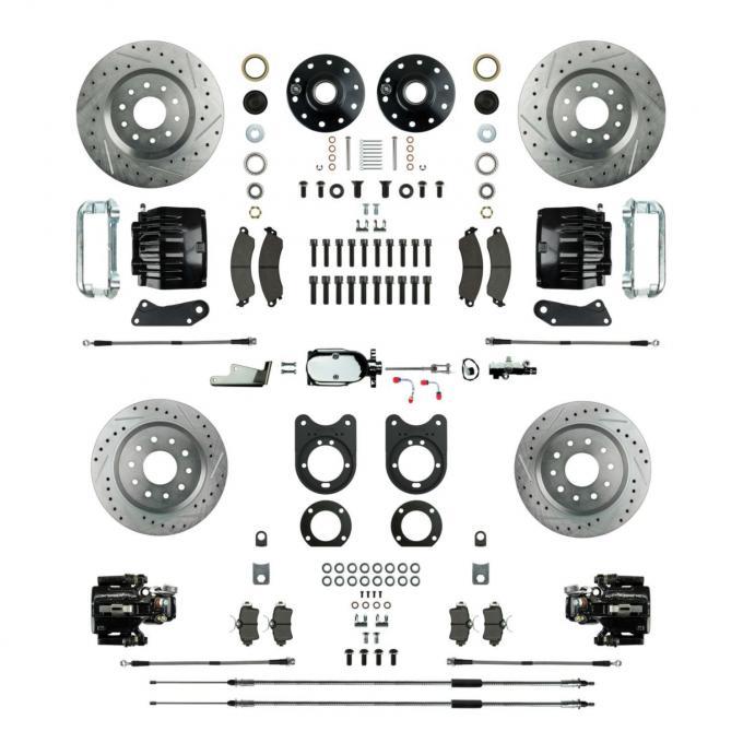 Right Stuff Signature Series Standard Four Wheel Disc Brake Conversion AFXSD51CSX