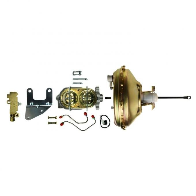 """Right Stuff Upper Assembly with Gold Booster, 1"""" Bore, Valve, Brackets and Lines G10060572"""