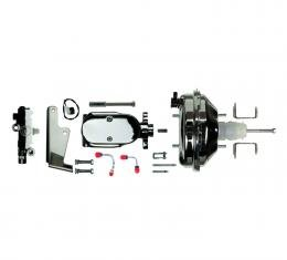 """Right Stuff Upper Assembly with Chrome Booster, 1.125"""" Bore, Valve and Brackets J91215171"""