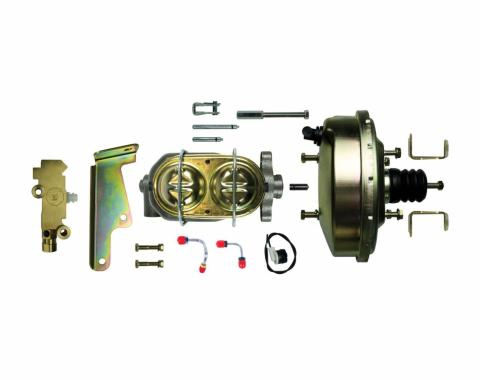 "Right Stuff Upper Assembly with Gold Booster, 1"" Bore, Valve, and Brackets G91020572"